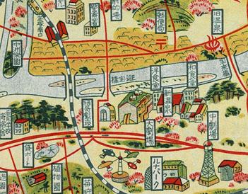 新温泉御案内地図1