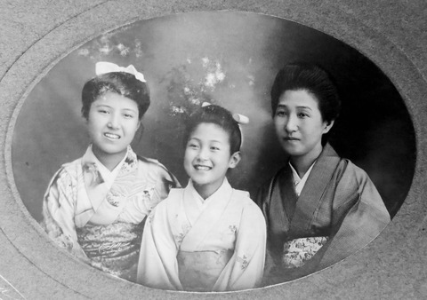 中川くまと2児