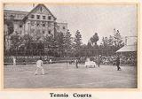 宝塚ホテル初期パンフレット テニスコート
