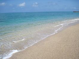 大好きな南の海の色(´∀`*)