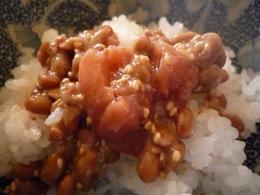 梅胡麻納豆