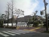 福岡地方裁判所の冬