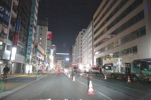 博多駅前通り通行止め解除|探偵事件簿-福岡