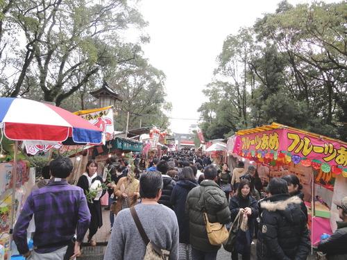 当探偵事務所の十日恵比須神社参拝|探偵事件簿-福岡