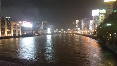 大雨の中 福岡市内で浮気調査 探偵事件簿-福岡