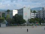 福岡市東区の城浜団地(城浜小学校側より)