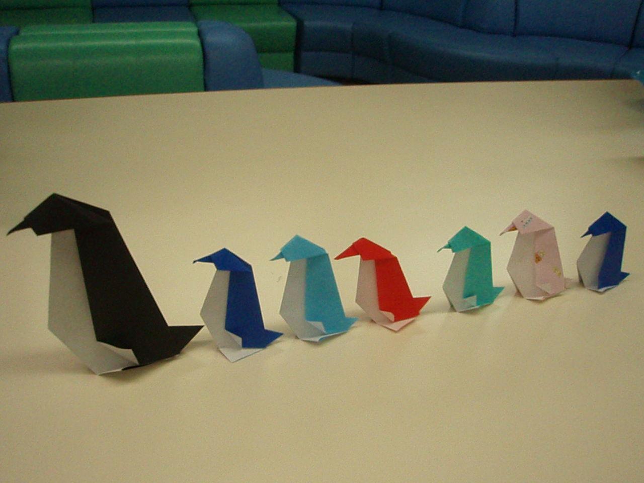 たぬきねこ日記 : 折り紙