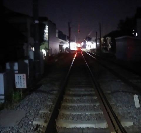 世田谷線ナイト探索ウォーク