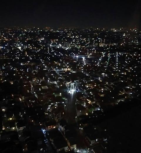 キャロットの夜景