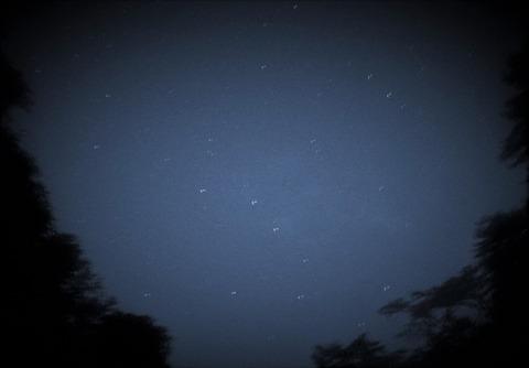 クモリの星空
