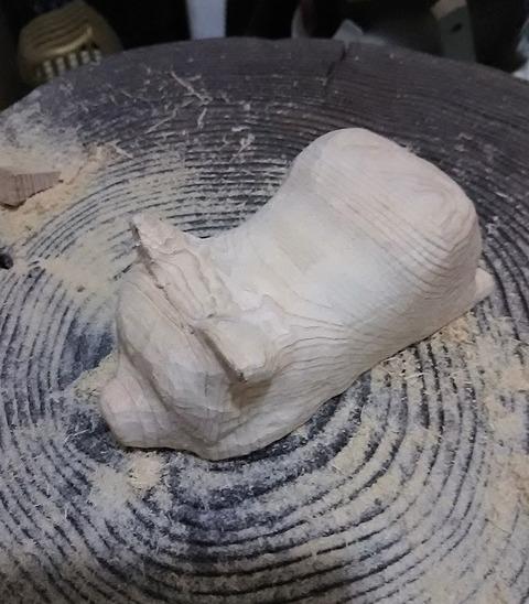 木彫りカービング