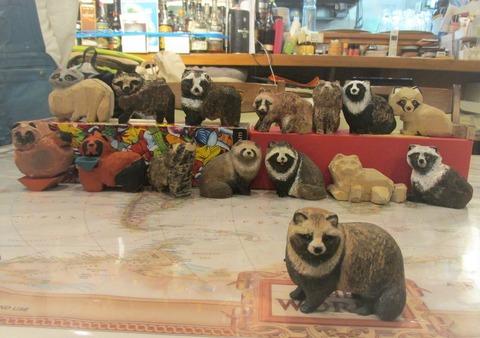 木彫り狸 教室