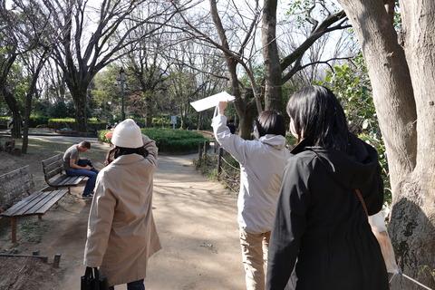 0駒場野公園鳥観察ツアー