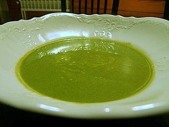 soupe de chou frise