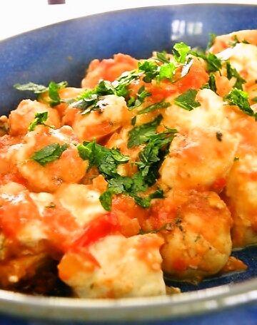 saganaki crevettes