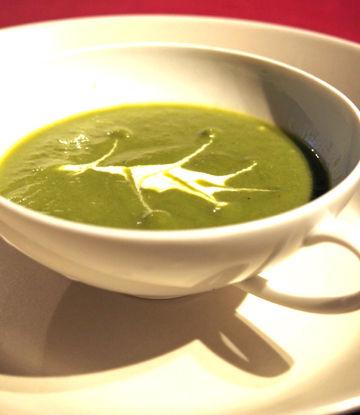 soupe de fins de daikon et de navets