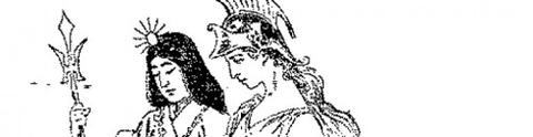 天照大神とブリタニア女神