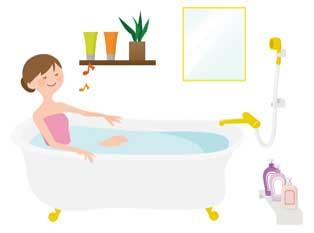 疲労回復に温冷交代浴