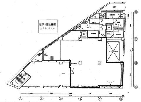 公園通り地下1階平面