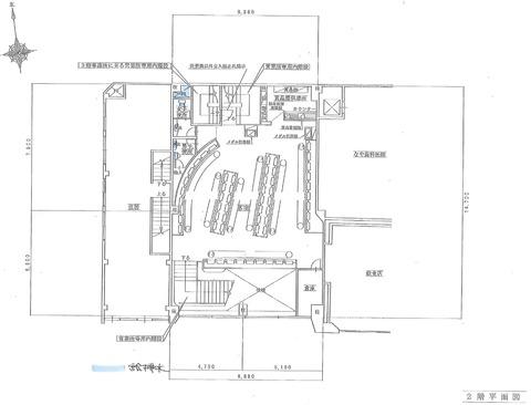 武蔵境2階平面