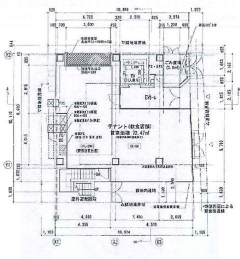コリエ1階平面