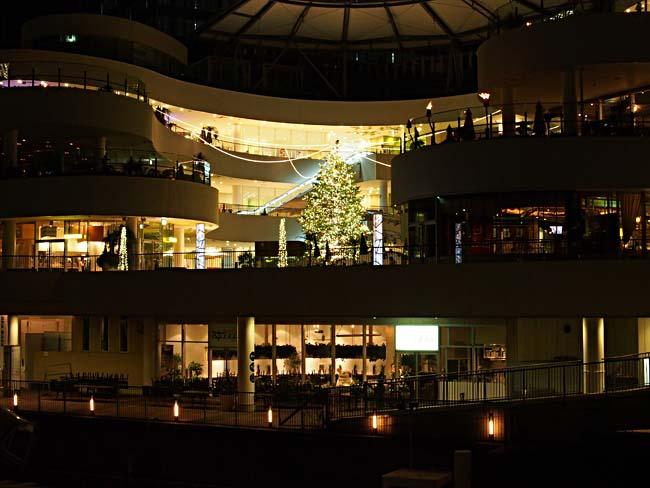 横浜ベイクォーター クリスマスイルミネーション201-22/OM-D E-M5