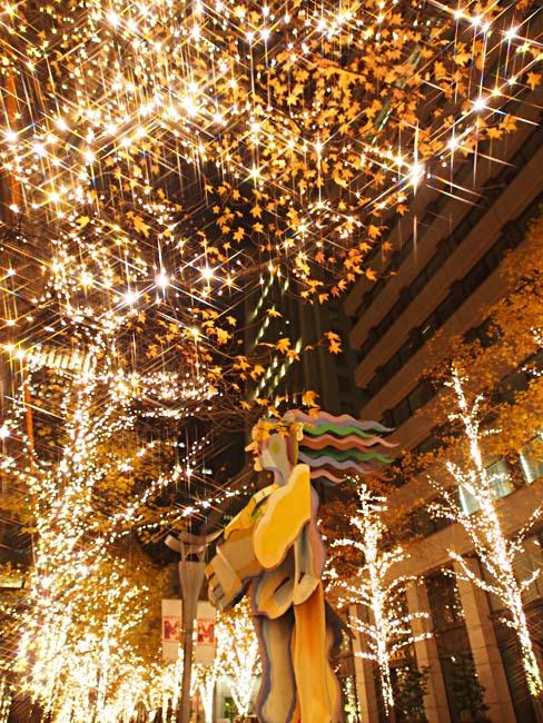 丸の内 クリスマスイルミネーション2012/OM-D