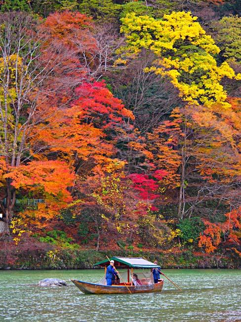 京都・嵐山の紅葉-1/OM-D