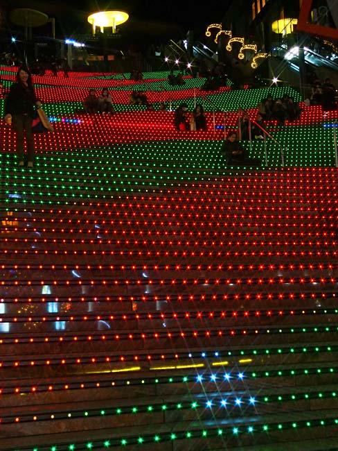 京都駅ビル クリスマスイルミネーション/OM-D