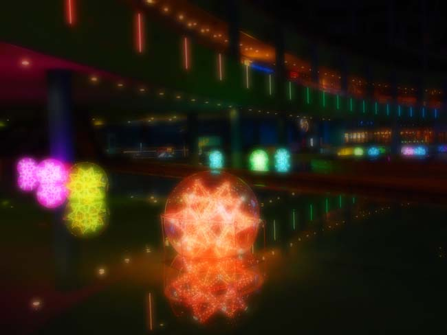 東京ドームシティ イルミネーション2012-5/OM-D