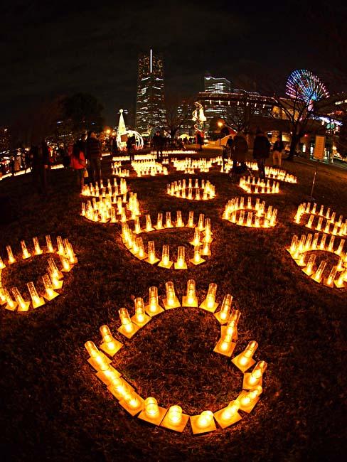 横濱キャンドルカフェ2012+みなとみらいクリスマスイルミネーション-1/OM-D