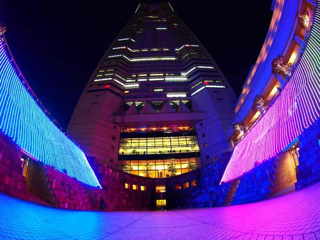ランドマークタワー クリスマスイルミネーション2012-/OM-D E-M5