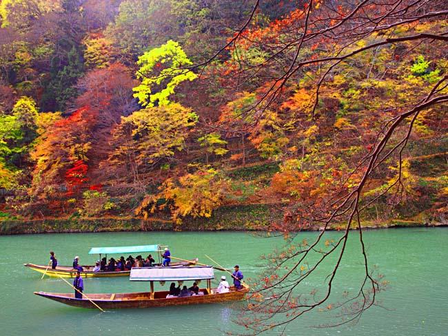 京都・嵐山の紅葉-3/OM-D