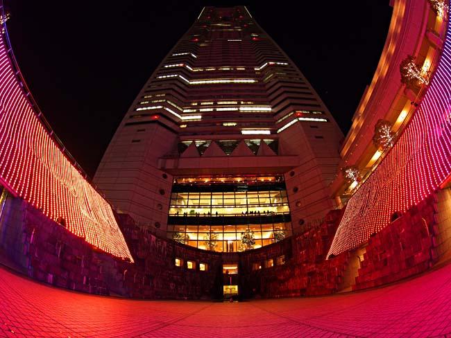 ランドマークタワー クリスマスイルミネーション2012-1/OM-D E-M5