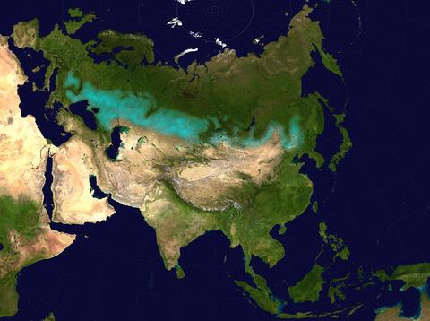 8-2 Eurasian_steppe_belt