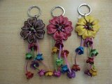 20100110花キーホルダー