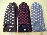 20101102ハート柄手袋