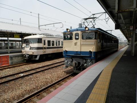 117系とEF65