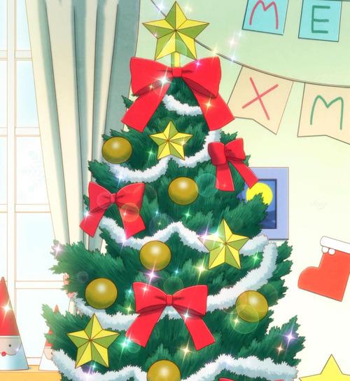 アイカツ クリスマスツリー