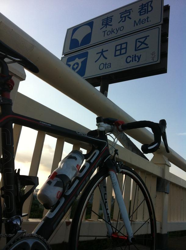 横浜近辺まで試走