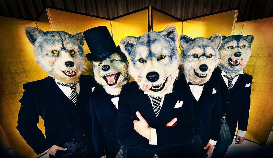 謎に包まれた狼バンド『MAN WITH A MISSION』
