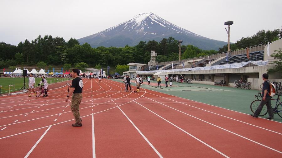 Mt 富士ヒルクライム 2013(前日)