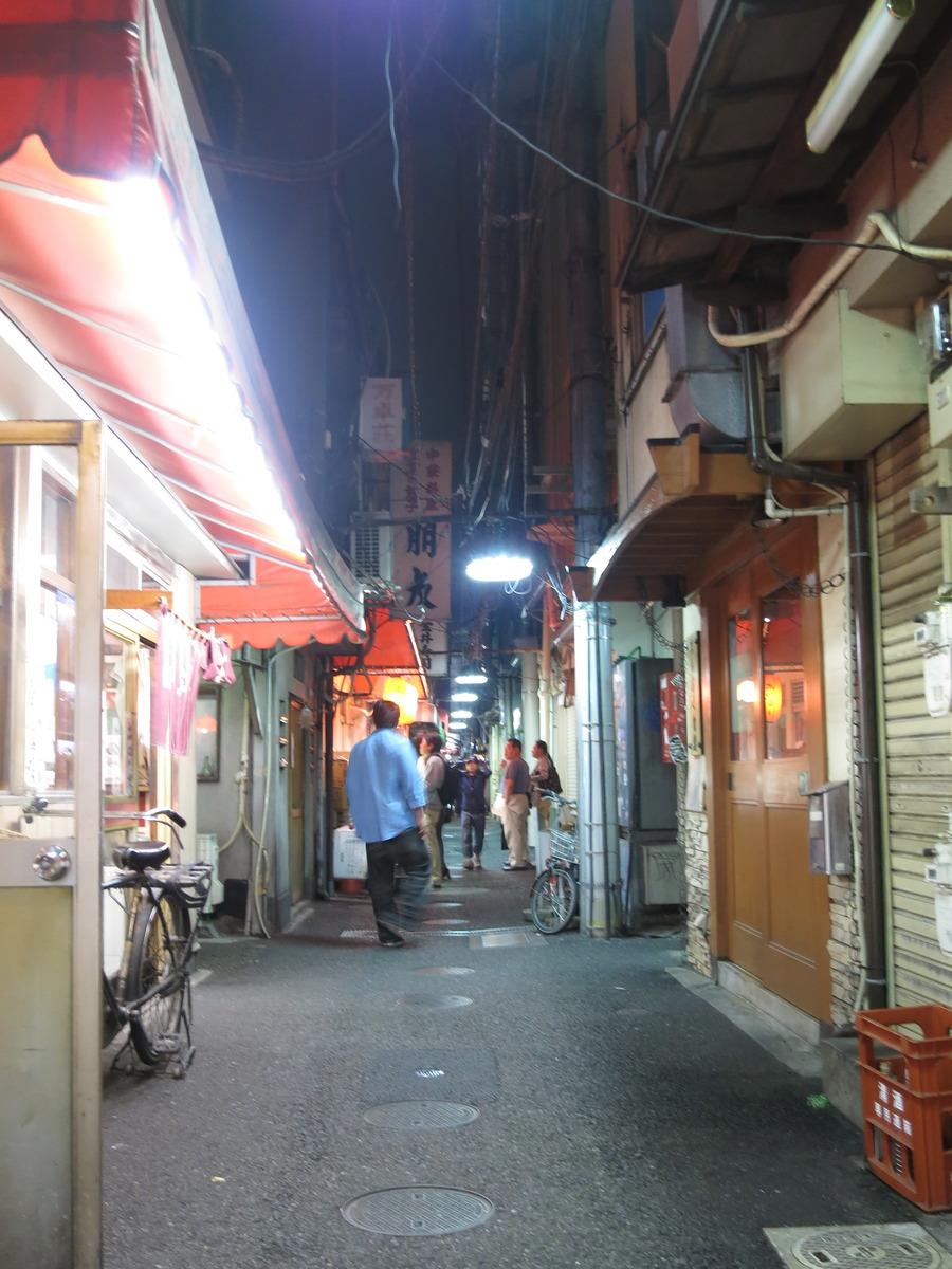 昭和のたたずまいが残る大井町