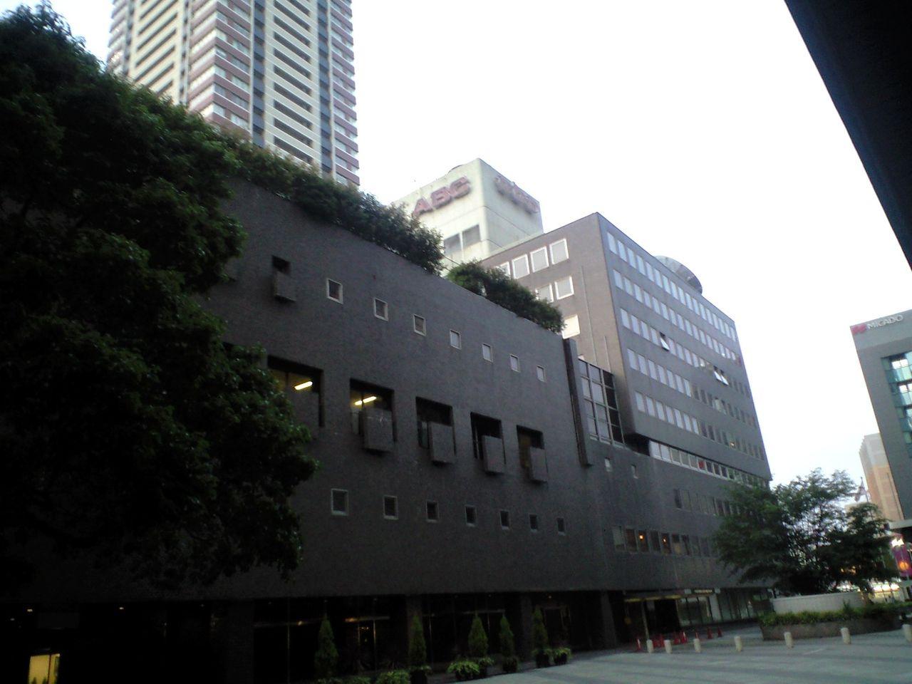 大阪府・朝日放送旧局舎 : tarochan_denpaのブログ