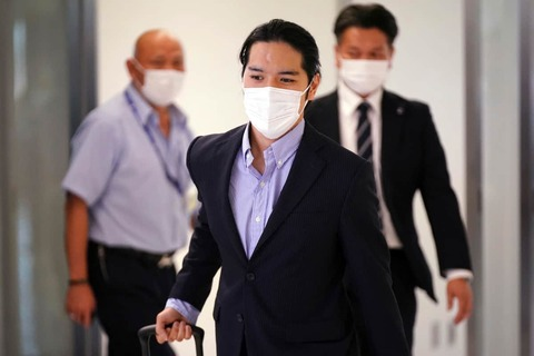 【朗報】東京オリンピックのあの顔、小室圭だったと判明