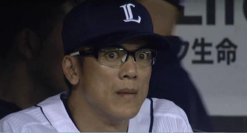 【画像あり】松井稼頭央さん、クライマックス敗退直後に何かを発見する
