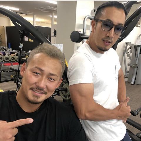 中田翔さん、黒髪に戻す