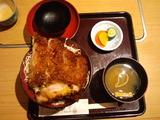 とん亭ソースかつ丼