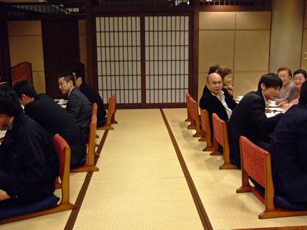 樽蒲(親会)例会の模様 2007年3月9日(金)