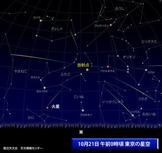 オリオン流星 111021